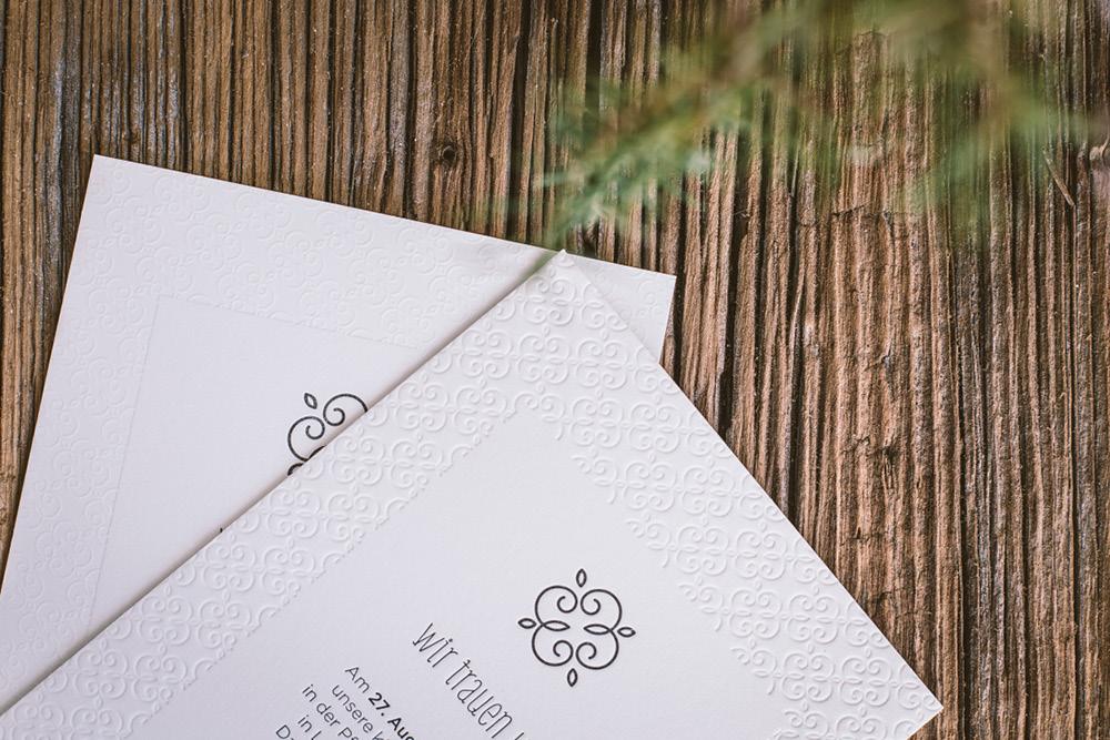 Letterpress-Karten