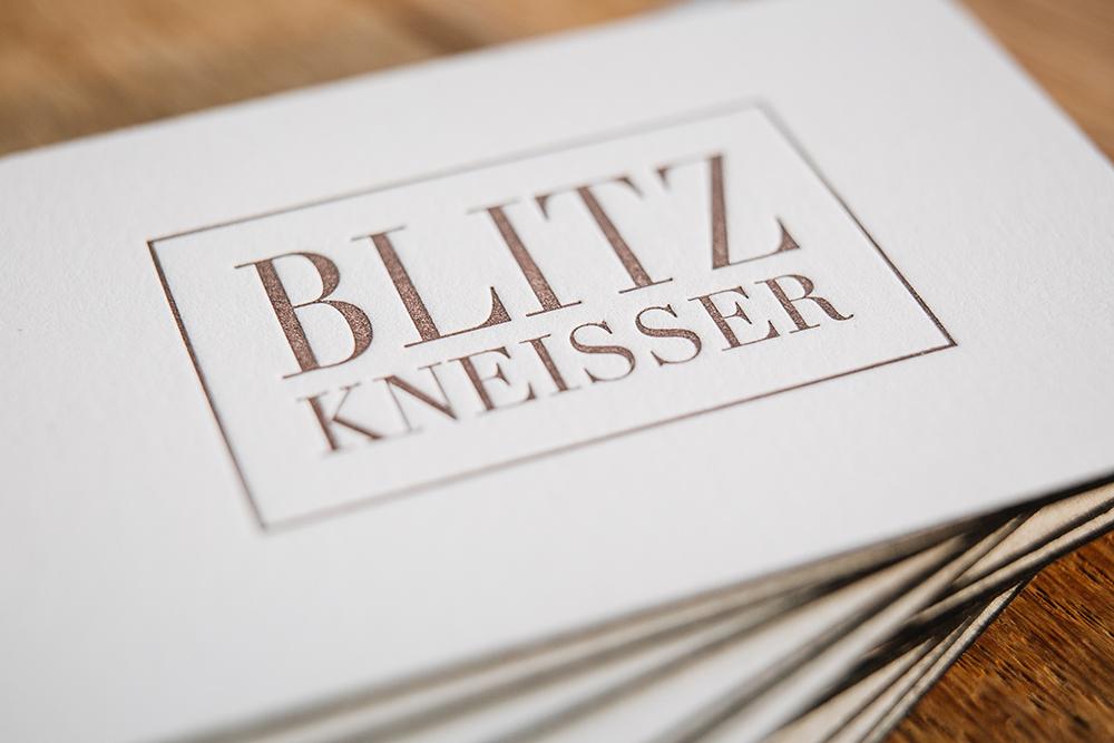 Letterpress-Visitenkarten