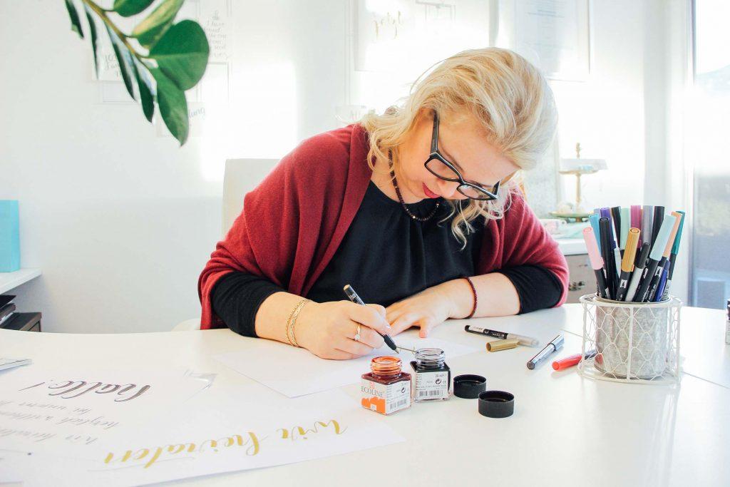 Katja Haas @ work