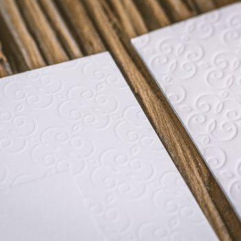 Letterpress – eine schöne Haptik – vertiefend oder erhaben
