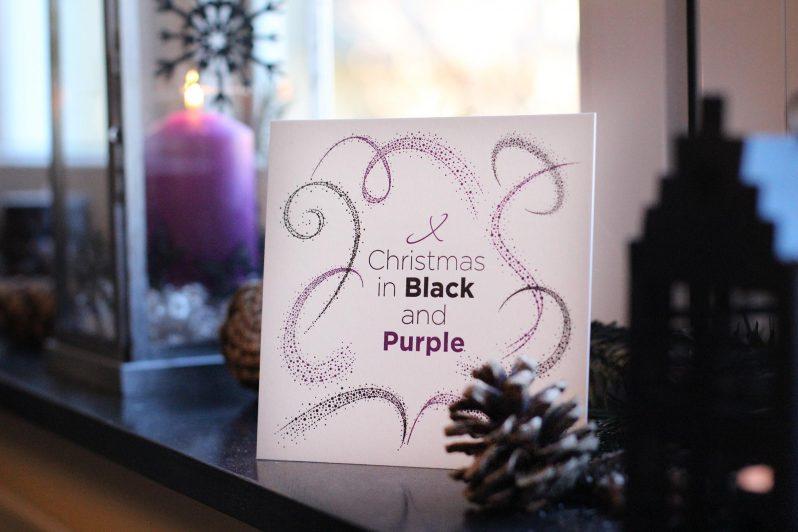 Letterpress-Weihnachtskarte