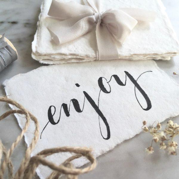 Lettering und Kalligrafie –PapierLiebe