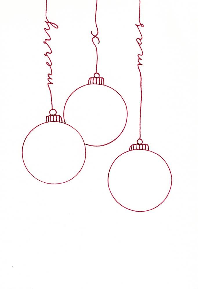 handlettering karte frohe weihnachten katja haas. Black Bedroom Furniture Sets. Home Design Ideas