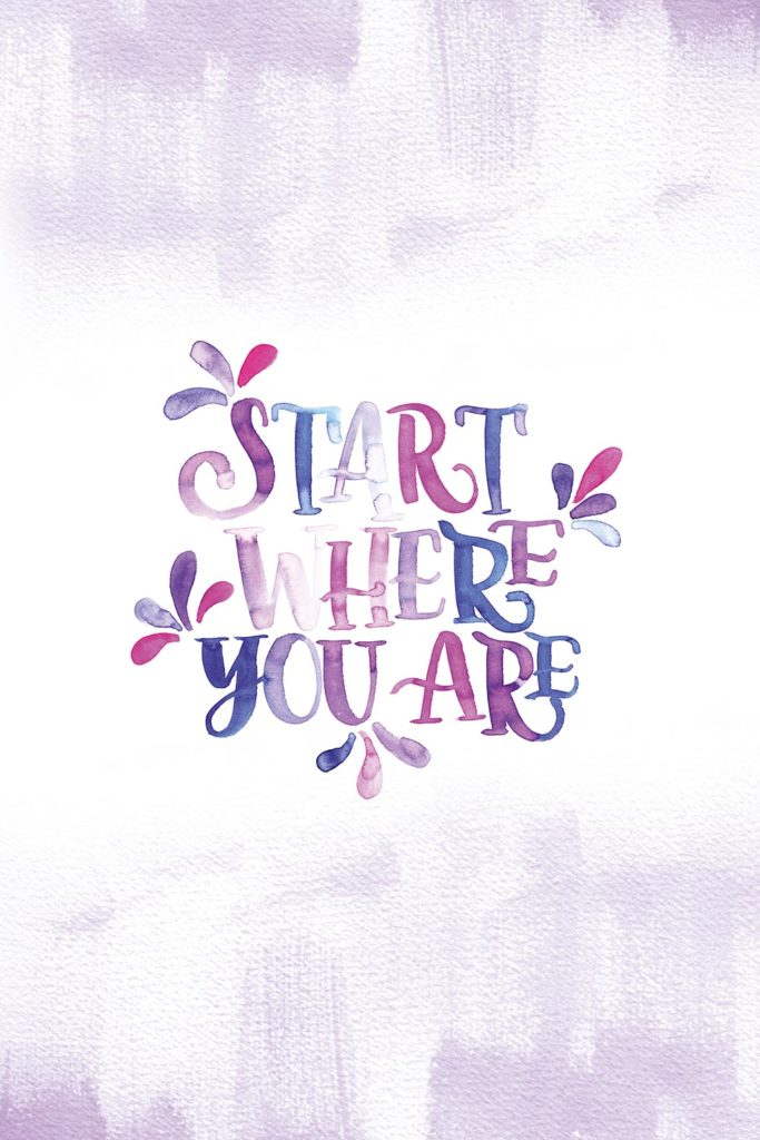 PapierLiebe-brush-lettering-watercolor-spruch-start-where-you-are