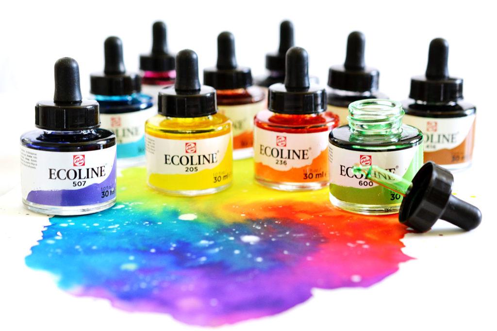 Ecoline – Flüssige Wasserfarbe von Royal Talens