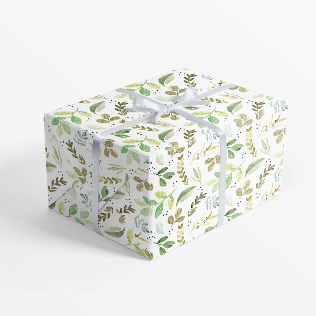 Greenery Geschenkpapier