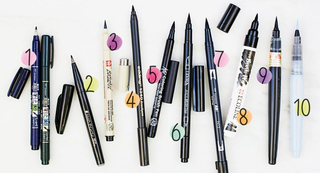 papierliebe-brush-lettering-brush-pen-uebersicht