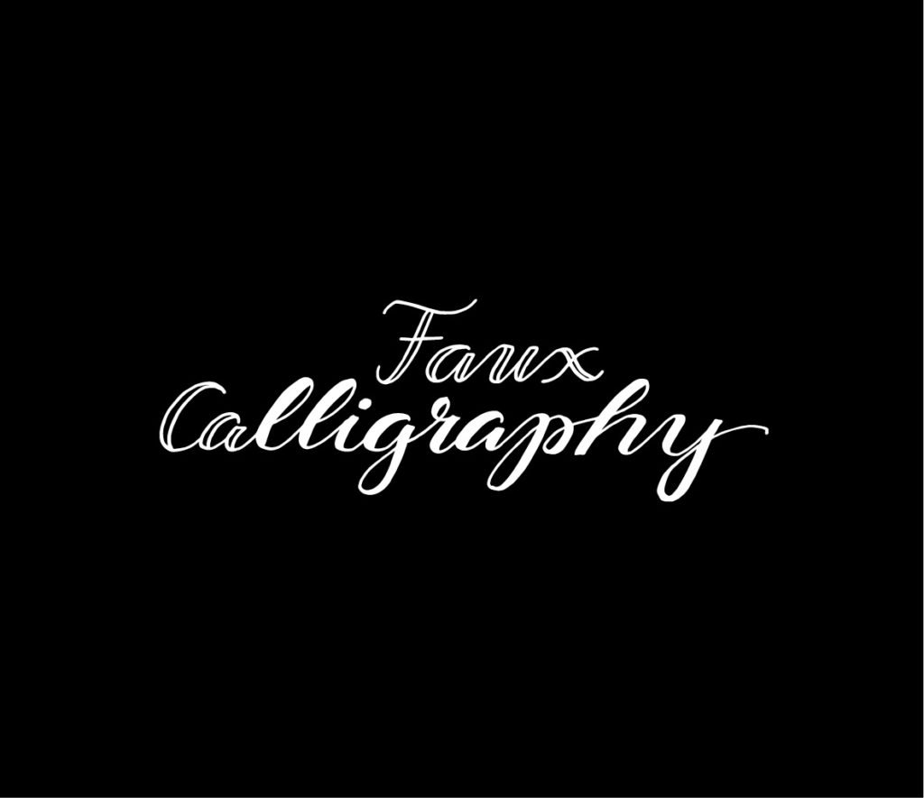 papierliebe-faux-calligraphy