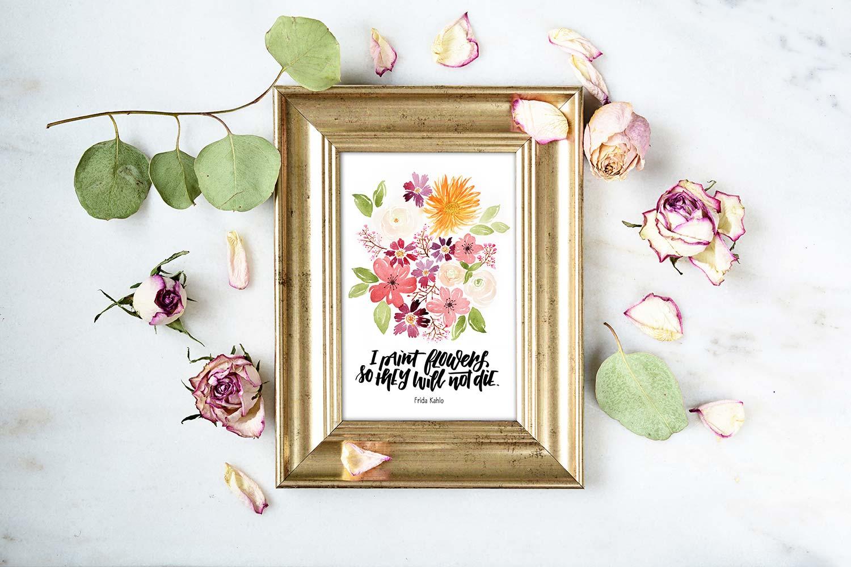 papierliebe-katja-haas-blumen-bouquet-watercolor-frida-kahlo