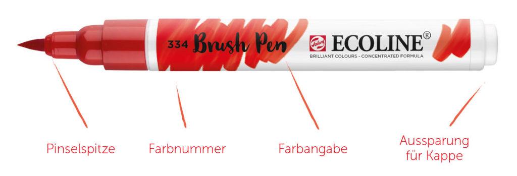 Brush Pen von Ecoline