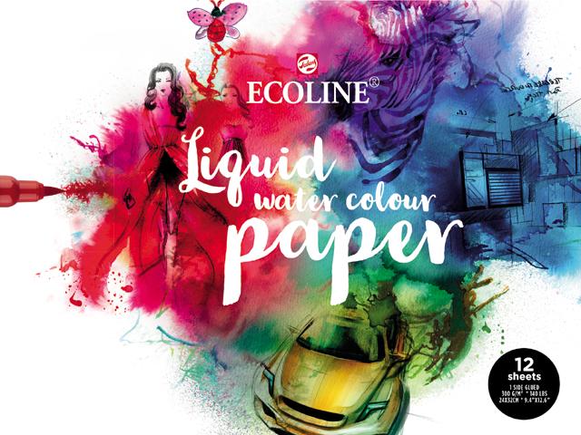 ECOLINE Liquid water colour paper