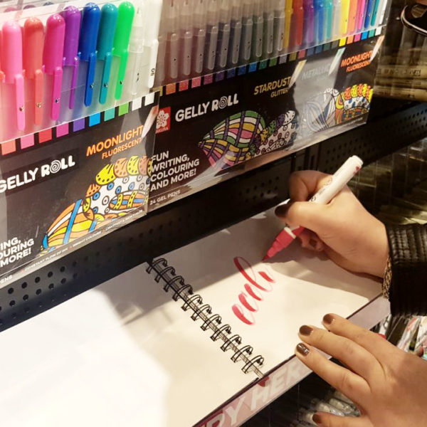 Brush-Lettering mit Ecoline Brush Pens und Katja Haas
