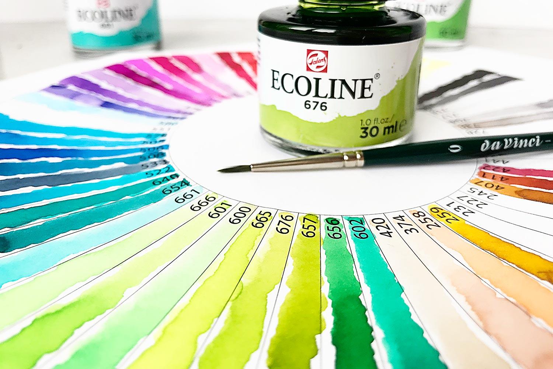 Ecoline ColourWheel –Das Farbschema im Überblick