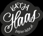Katja Haas www.papier-liebe.at Button