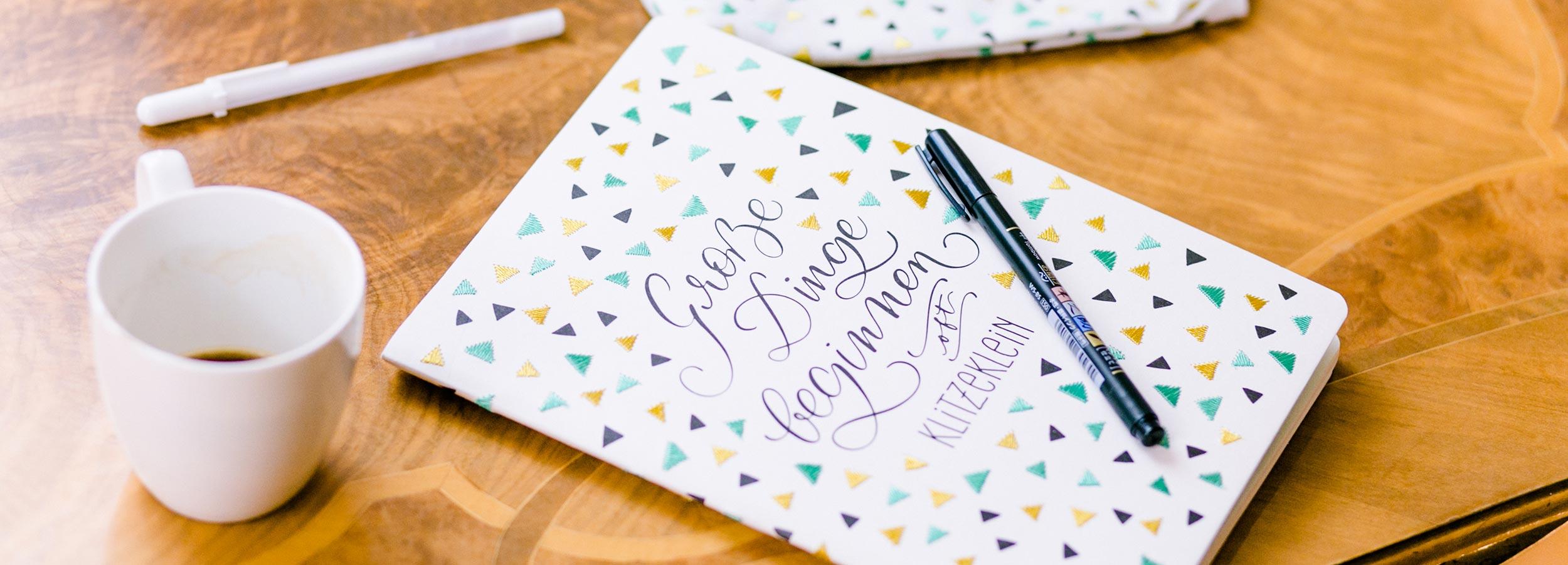 Notizbuch LetterLiebe by Katja Haas PapierLiebe & monbijou