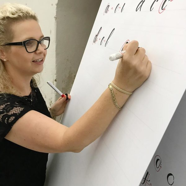 Brush-Lettering Workshop Stift Rein