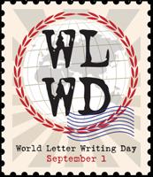 Logo World Letter Writing Day