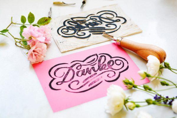 Linoldruck –Linolschnitt