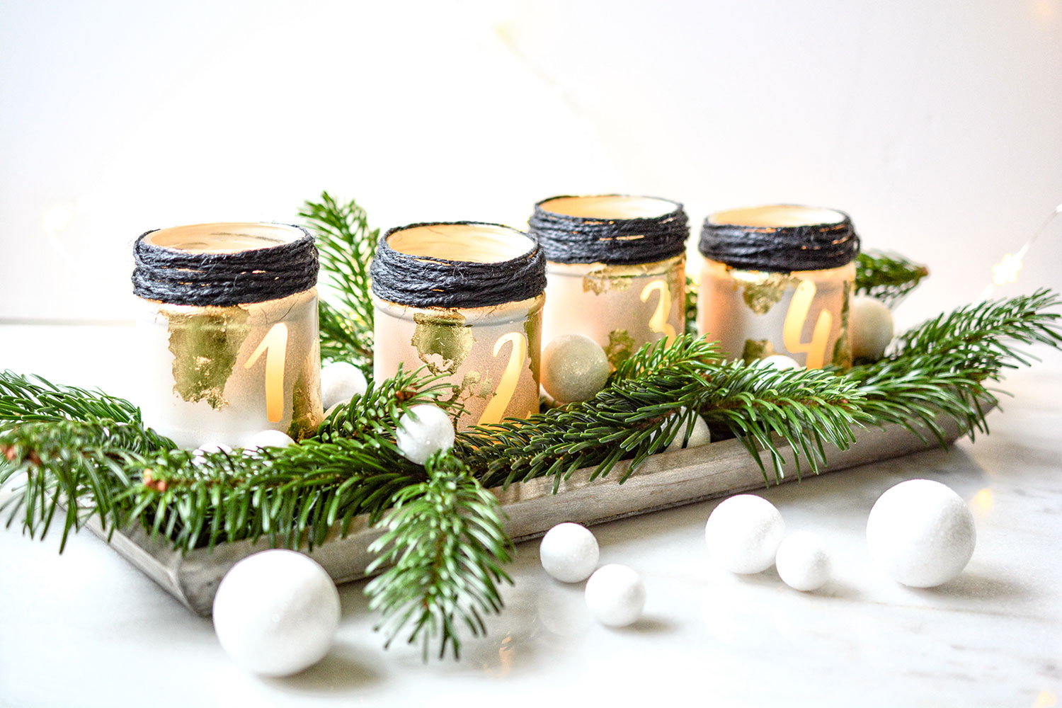 Adventkranz Upcycling-DIY