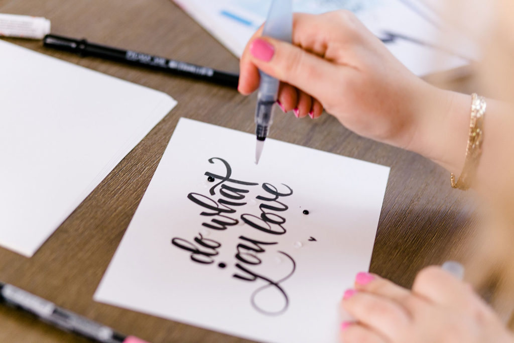 Brush-Lettering Workshop
