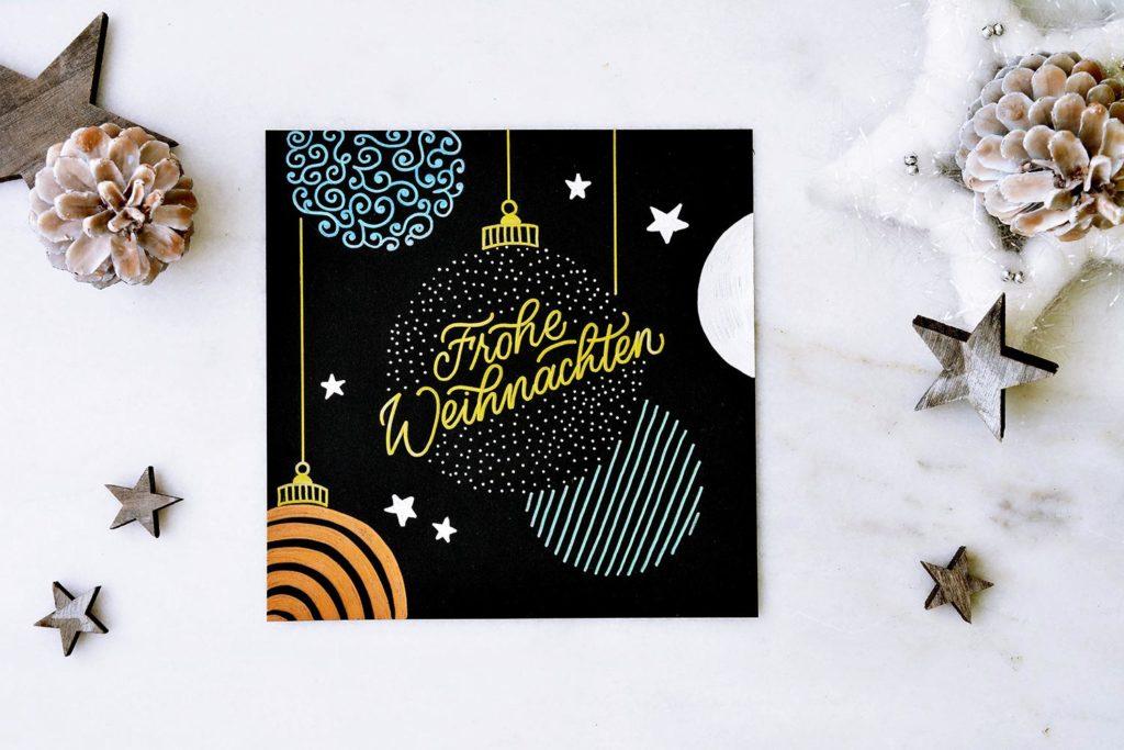 Stabilo Pen 68 metallic Frohe Weihnachten