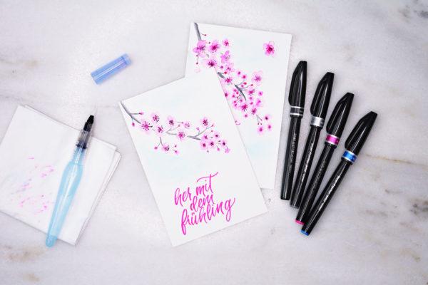 Pentel Sign Pen Brush Artist