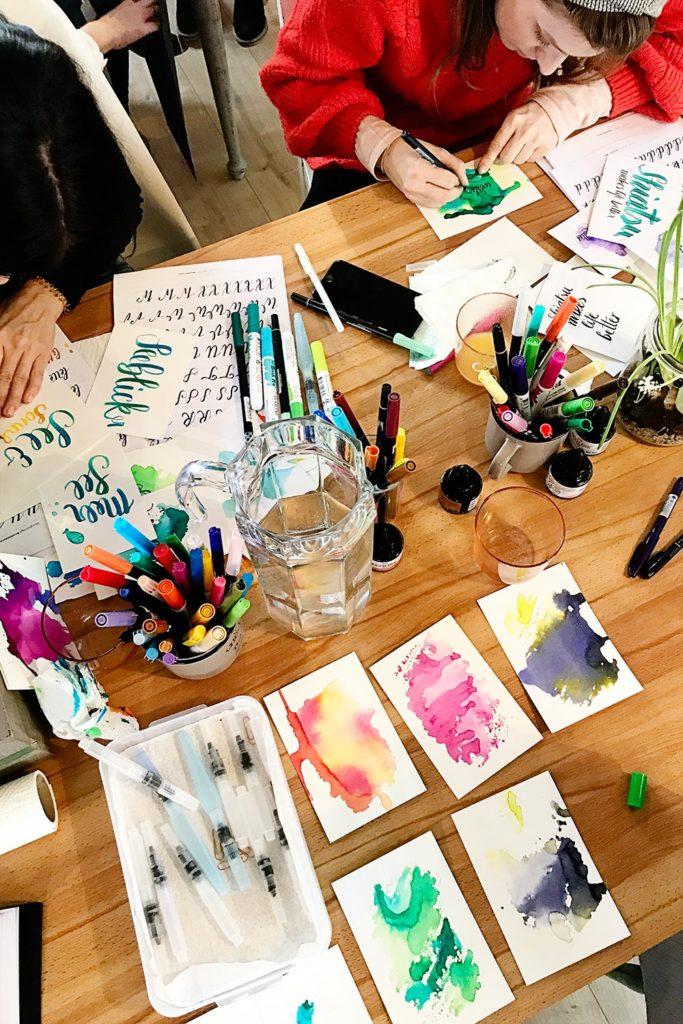 Brushlettering-Workshop Gols