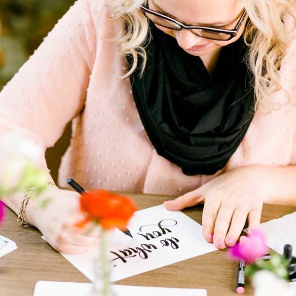 Brush Lettering Katja Haas