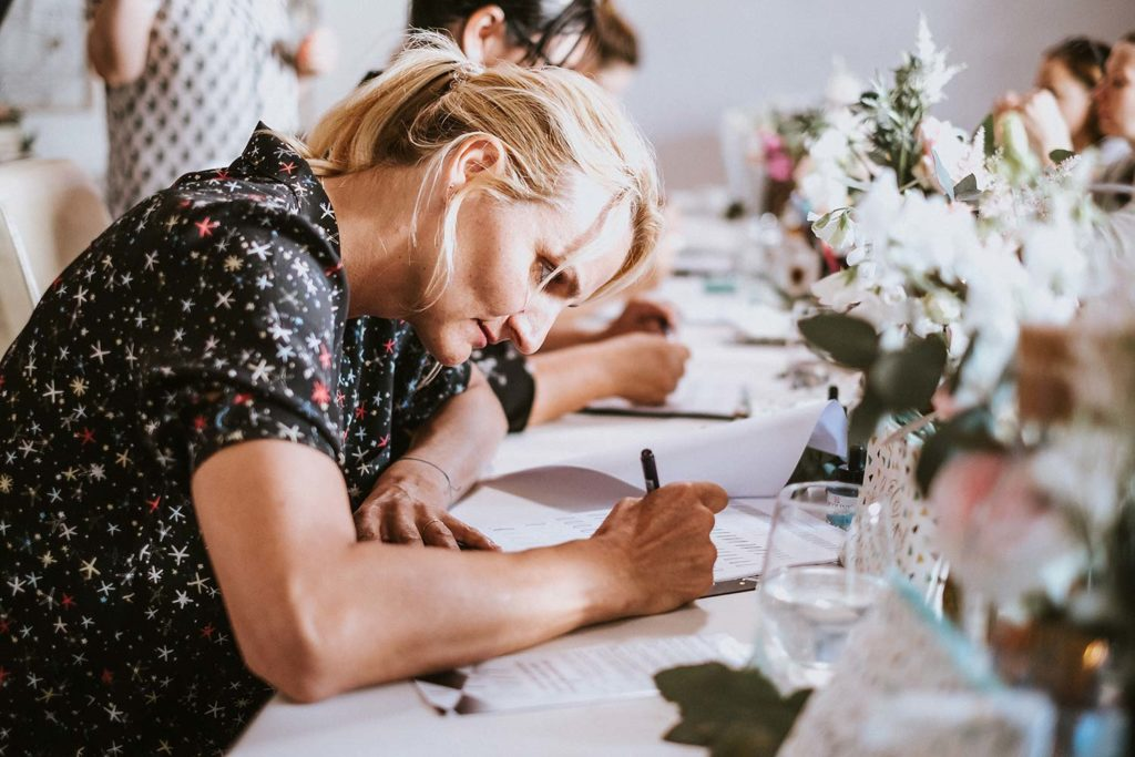 Katja Haas Lettering-Workshops