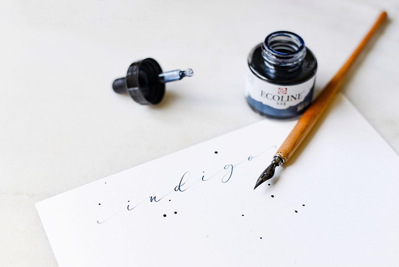 Indigo Ecoline Watercolour