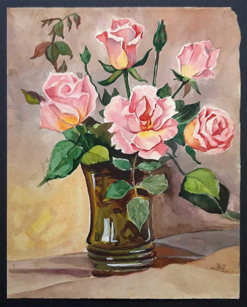 Malerei von Arnold Samuel