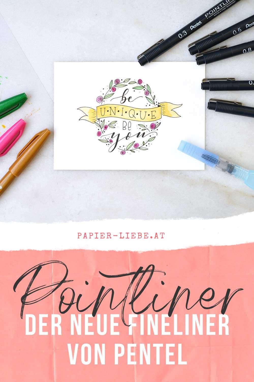 POINTLINER –Der neue Fineliner von Pentel