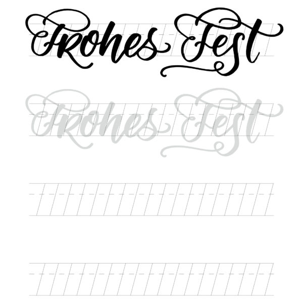 Arbeitsblatt Stabil Pen 68 brush –Frohes Fest
