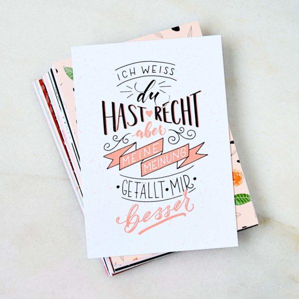 Kartenglück trifft Letterliebe –Die Lettering-Blogger-Ausgabe