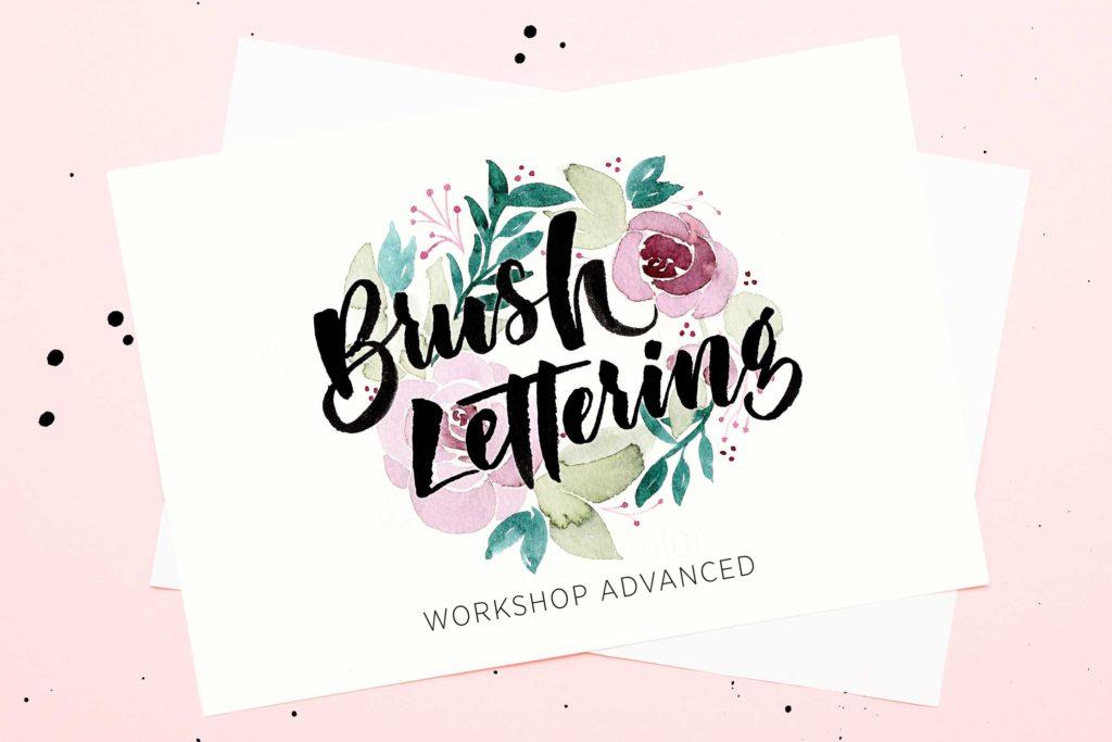Brush-Lettering-Workshop ADVANCED