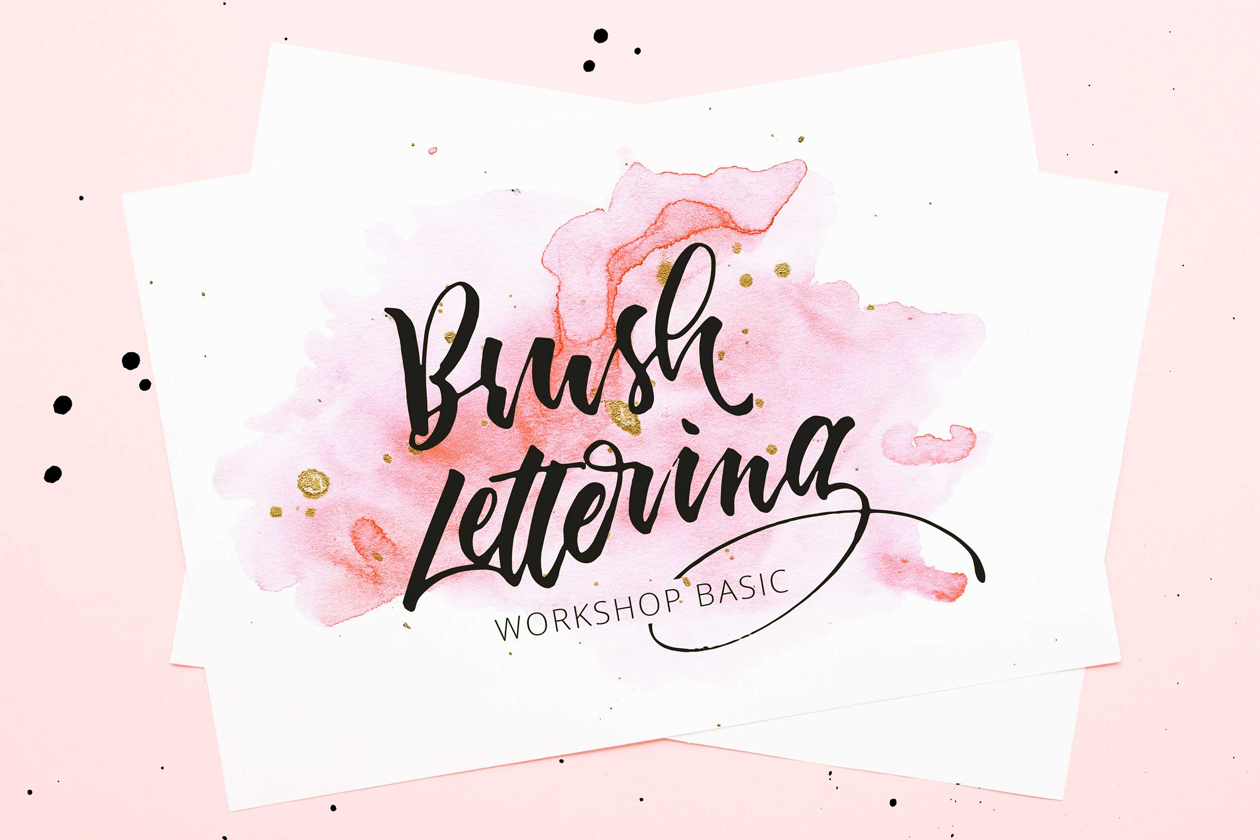 Brush-Lettering-Workshop BASIC