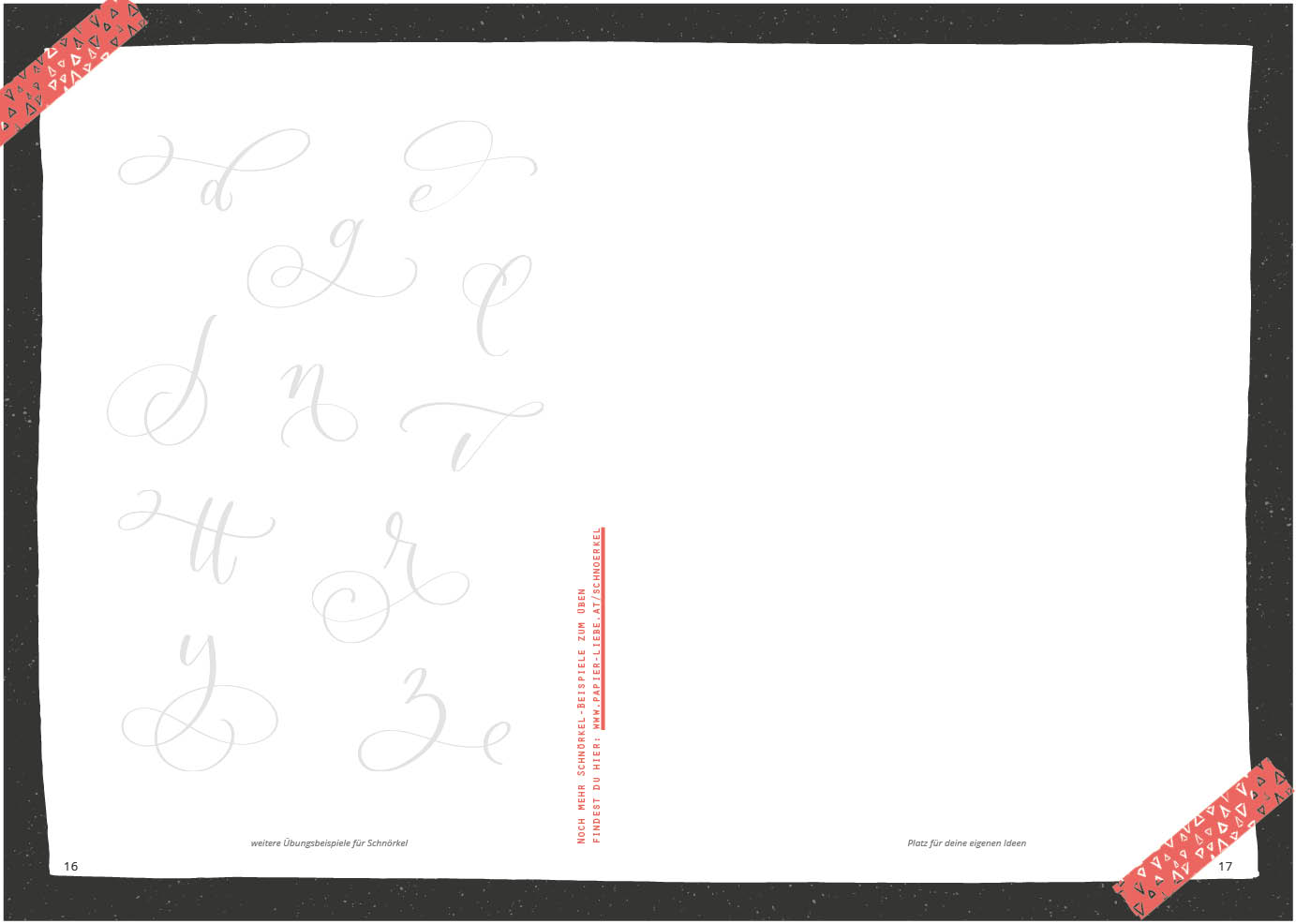 Vorschau Handlettering-Übungsheft Volume 2