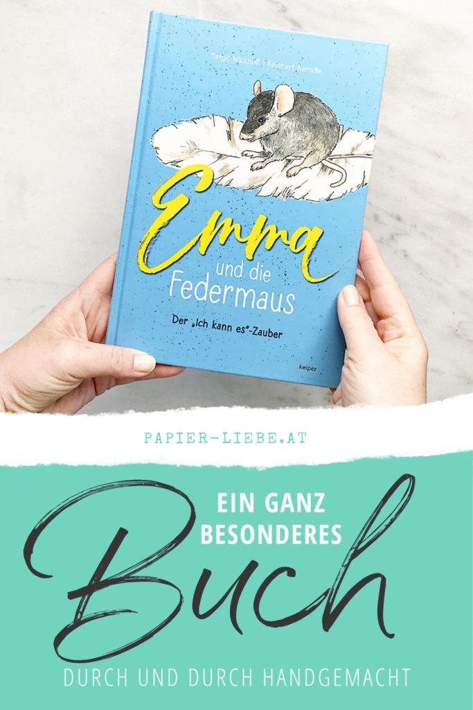 Ein ganz besonderes Buch –Emma und die Federmaus