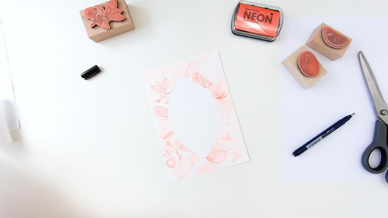 Handlettering meets Stempeldruck