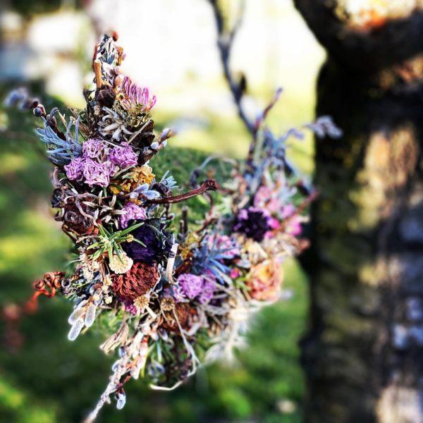 Trockenblumen-Kranzerl