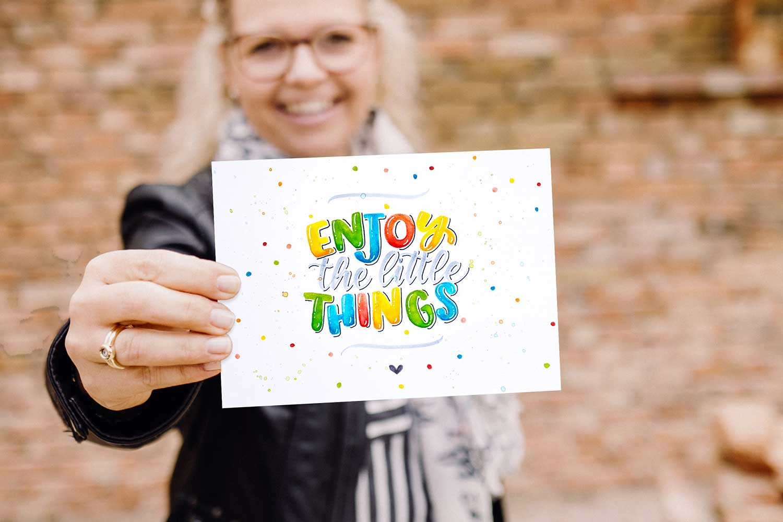 Enjoy the little things – Kreativ Summit 2.0
