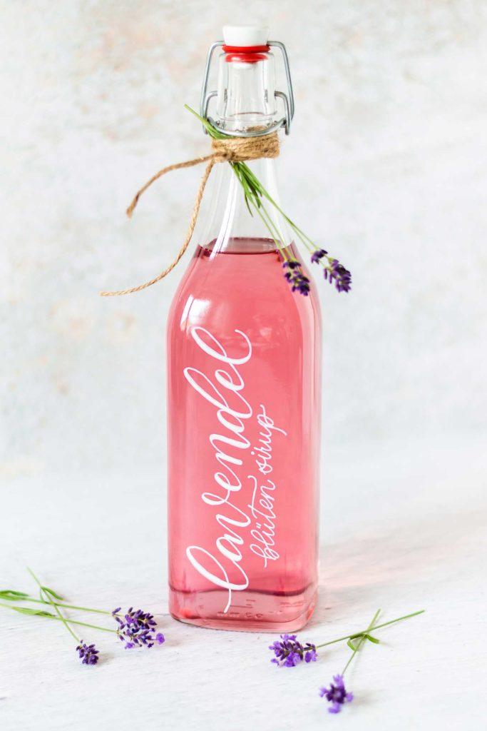 Lavendel-Sirup by Katja Haas